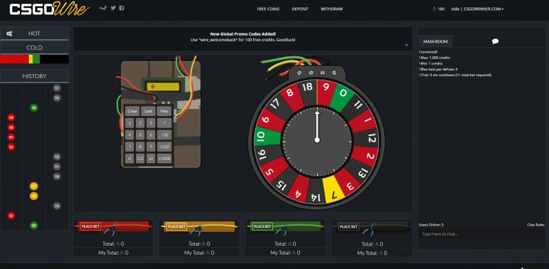 Jackpot roulette cs go